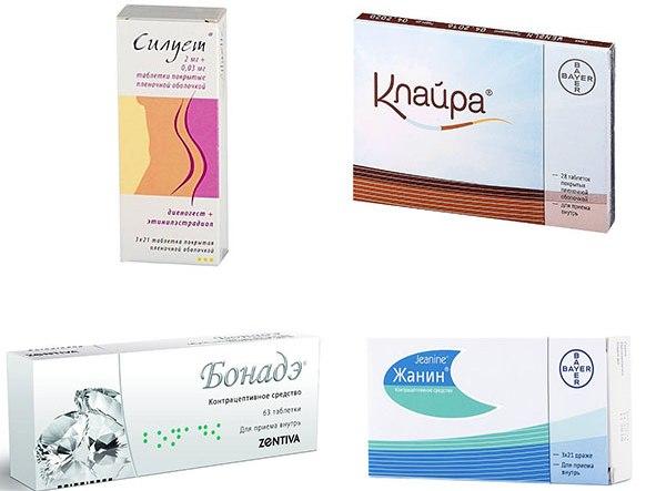 КОК для лечения эндометриоза