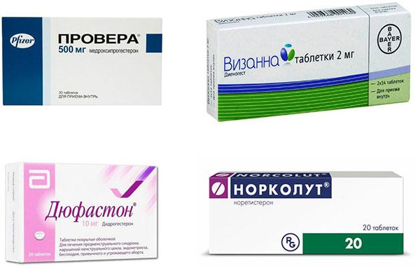 Прогестагены при эндометриозе