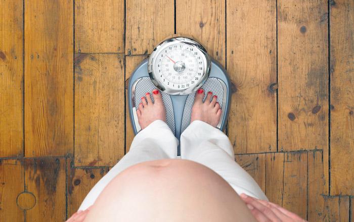 набор веса в 3 триместре