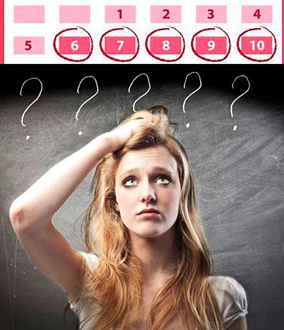 Нарушение менструального цикла может свидетельствовать о наличии кисты