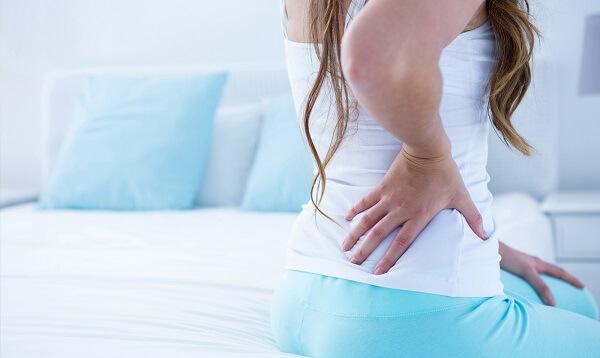 Из-за чего бывают боли в спине в копчике