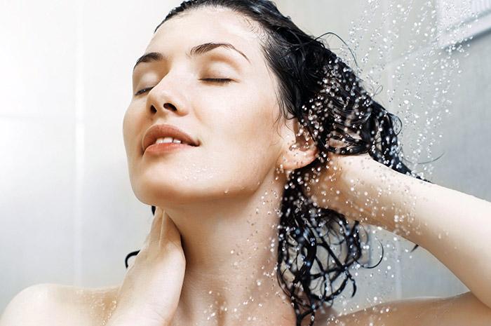 как мыться в душе