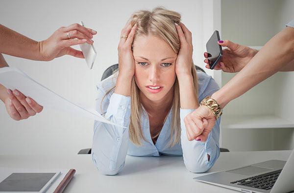 Стресс при миоме