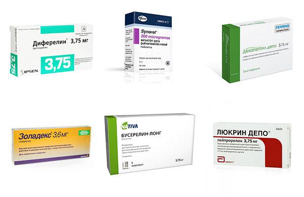Препараты ГнРГ при эндометриозе