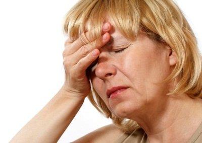 Симптомы мигрени у женщин при климаксе