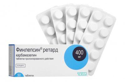Финлепсин при невралгии тройничного нерва: состав препарата