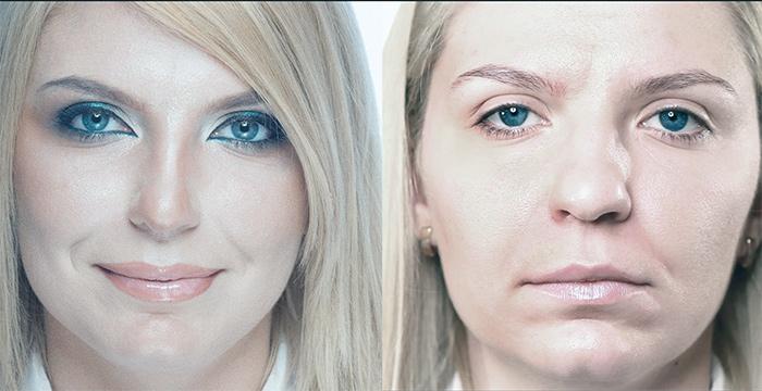 контурный макияж