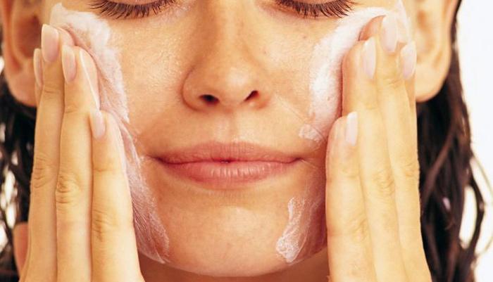 лицо мылом