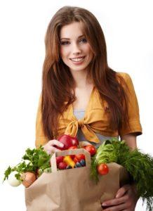 Как питание влияет на красоту тела