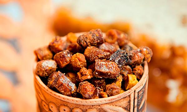 Перга (пчелиный хлеб) обладает антитоксическими свойствами