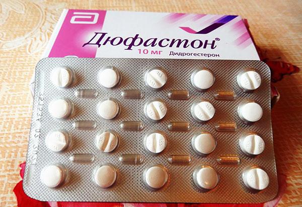 Дюфастон выпускается в форме таблеток по 20 и 28 штук