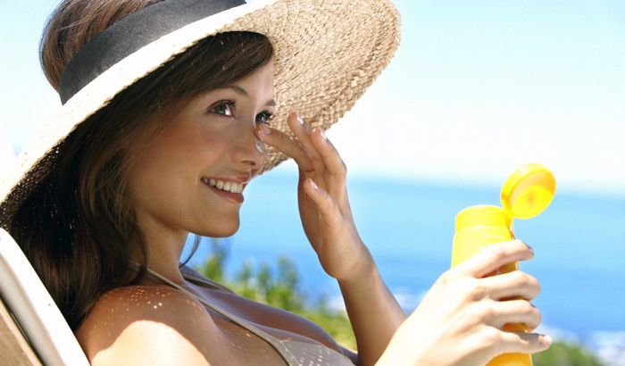 солнцезащитный крем для лица