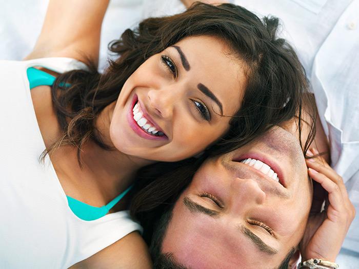 улыбка пары