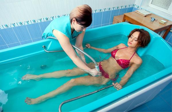 Лечебные ванны в период восстановления после лечения кисты