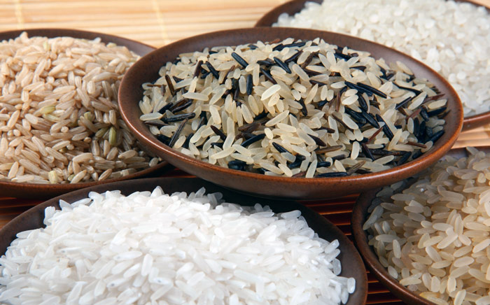 коричневый и бурый рис