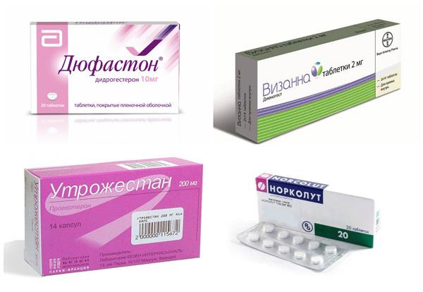 Препараты прогестерона при лечении фолликулярной кисты