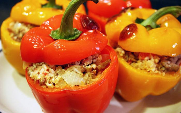 традиционный рецепт фаршированного перца