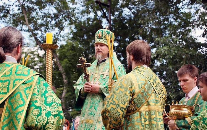 празднования троицы