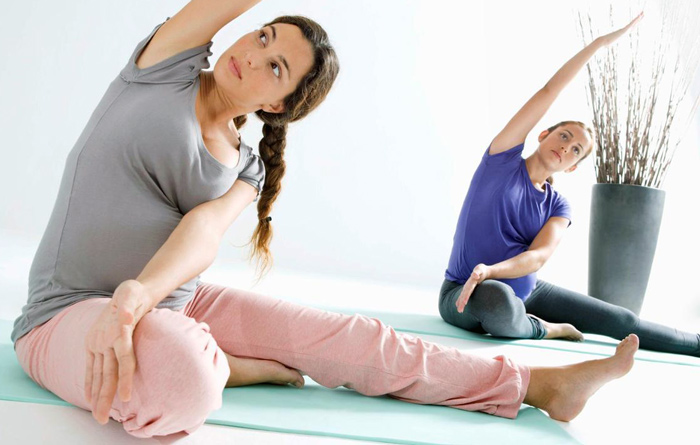 упражнения для беременных