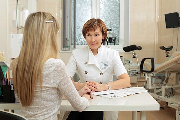 Регулярное посещение гинеколога позволит вовремя выявить патологию