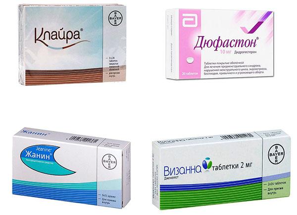 Гормональные препараты при эндометриозе
