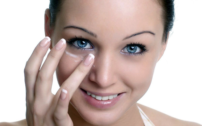 отбелить кожу вокруг глаз