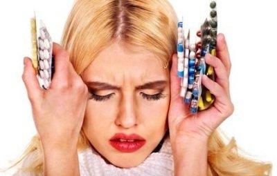 Мигрень с аурой: медикаментозное лечение