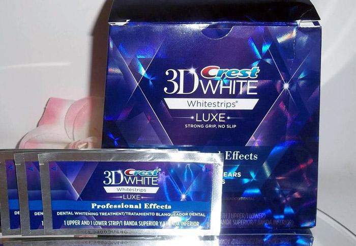 Crest 3d wihite для отбеливания зубов