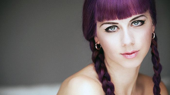фиолетовый оттенок