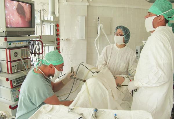 Операция по удалению миомы