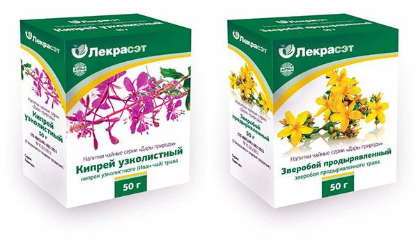 Иван-чай и зверобой при эндометриозе