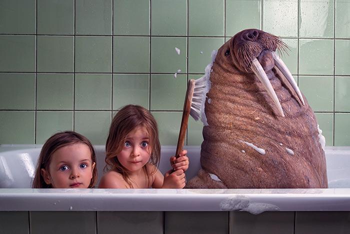 как мыться в ванной