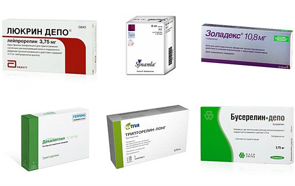 Препараты агонисты гонадотропин-рилизинг гормона