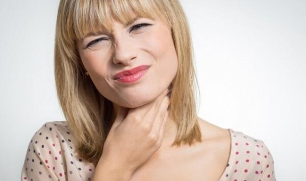 Что делать если болит горло при остеохондрозе